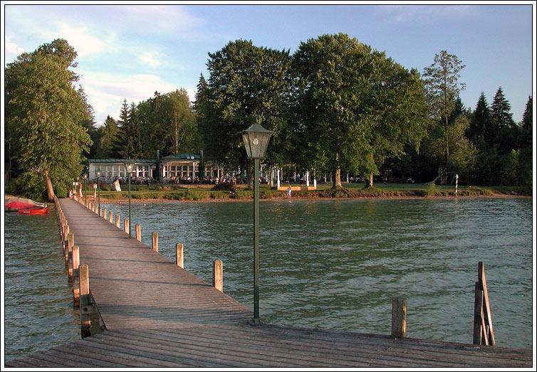 Am Starnberger See...