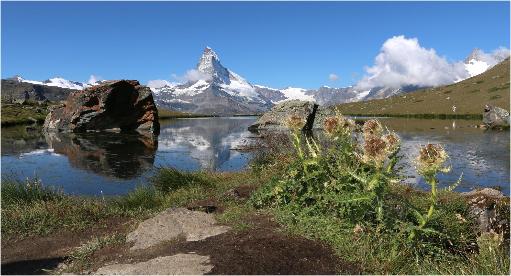am Stellisee mit Matterhorn (1)