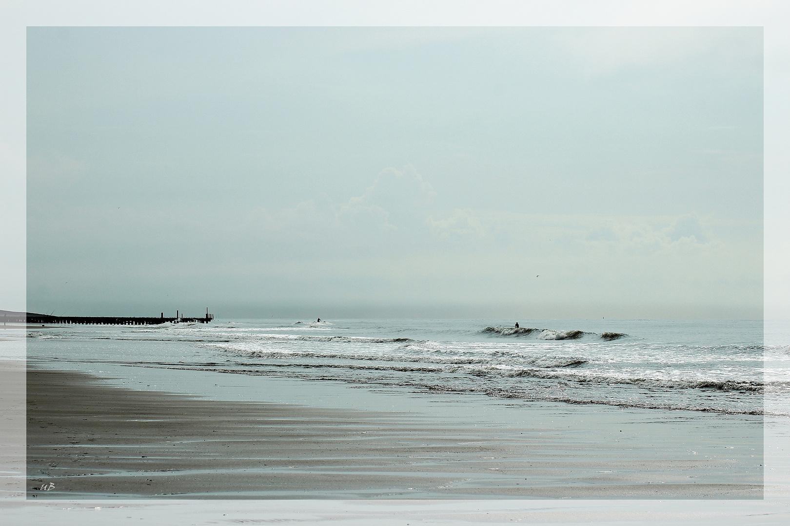 ... am Strand ...