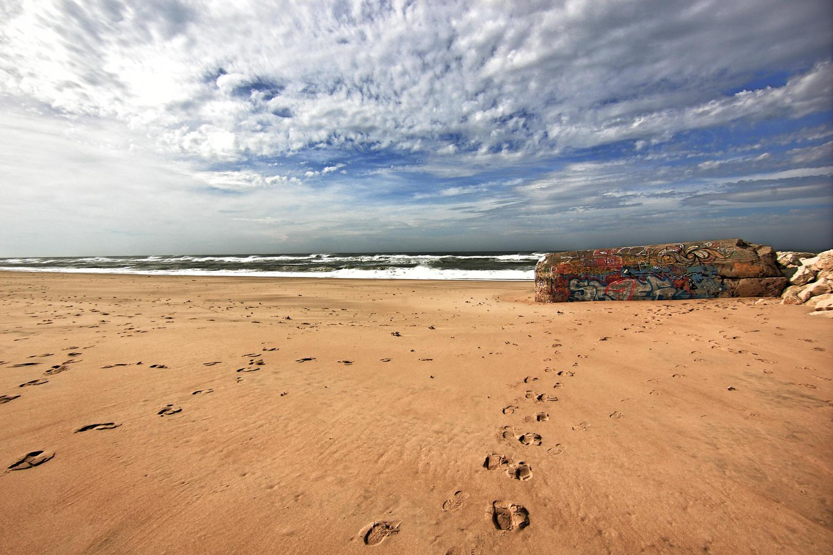 Am Strand vergessen!!!