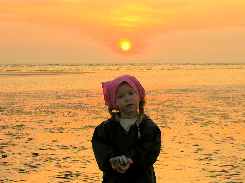 ...am Strand von Albarella