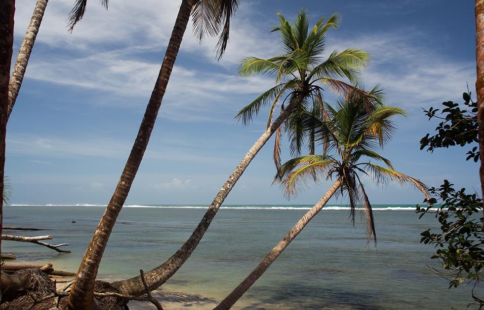 Am Strand von Cahuita