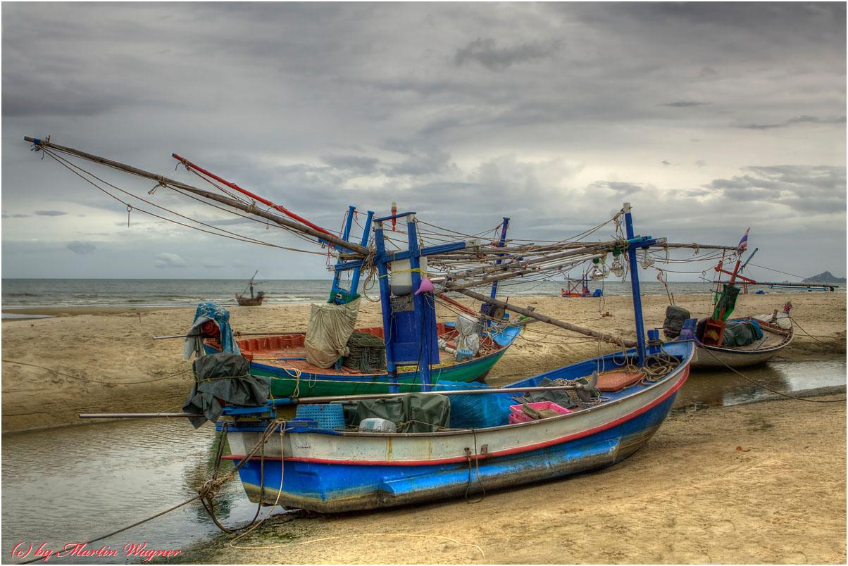 Am Strand von Hua Hin
