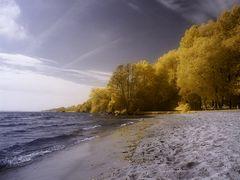 Am Strand von Klink
