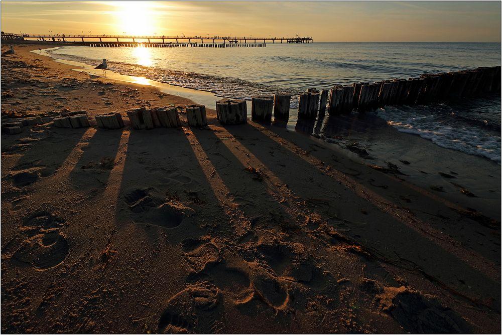 Am Strand von Kühlungsborn...