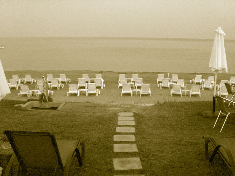 Am Strand von Laganas...