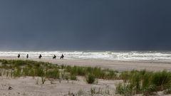 Am Strand von Langeoog