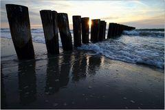 Am Strand von Nienhagen...