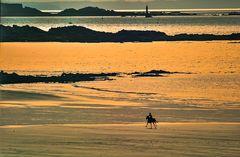 Am Strand von Saint Malo.    ..120_1652