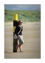 Am Strand von St. Peter...