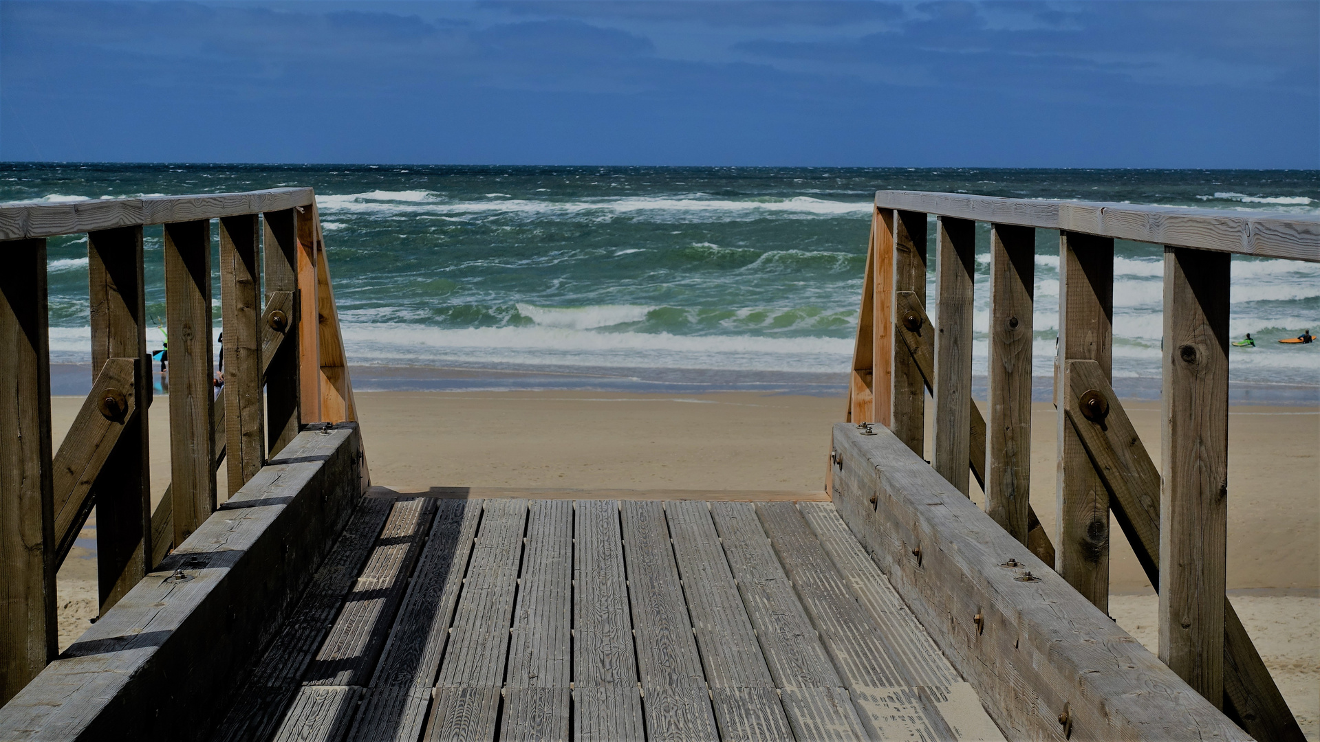 Am Strand von Sylt