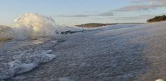 Am Strand von Vitte