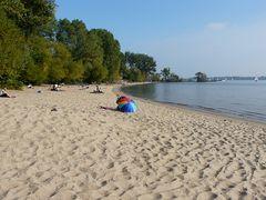Am Strand von Wedel