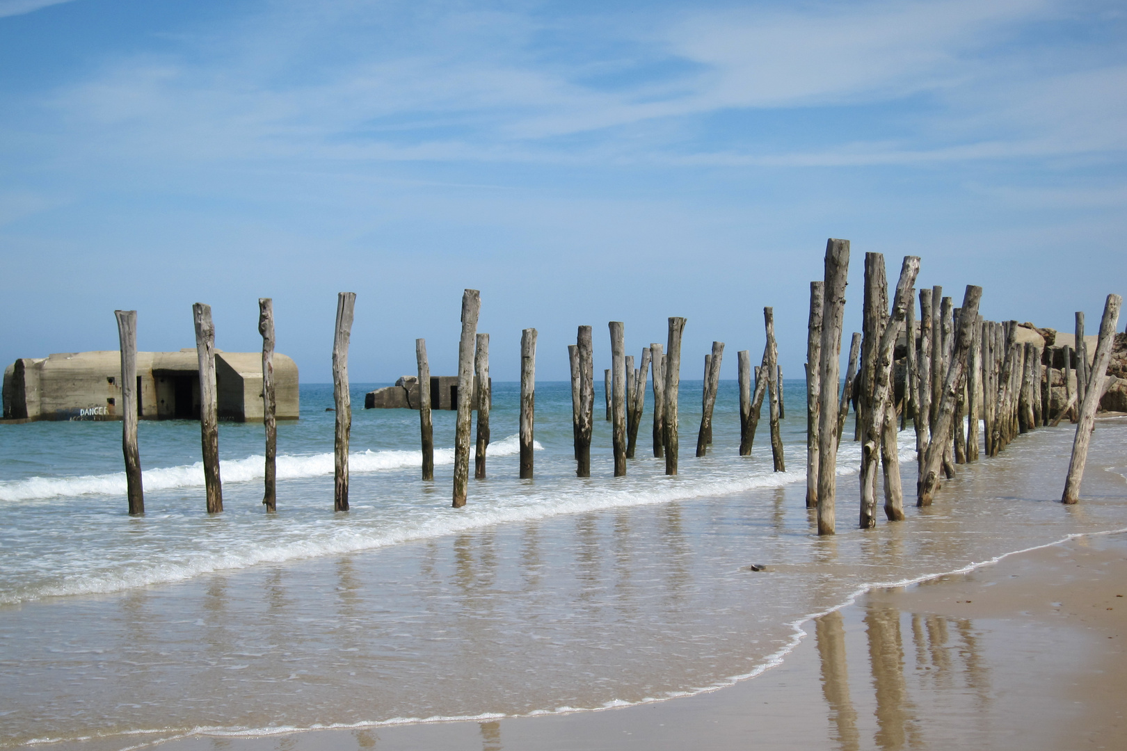 Am Strand von Wissant an der Cote d*Opale