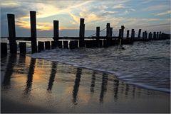 Am Strand von Zingst...
