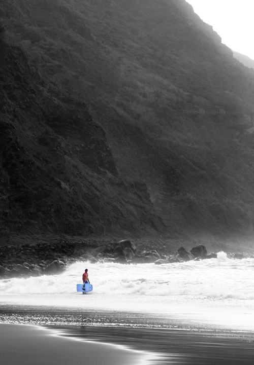 am Surfstrand