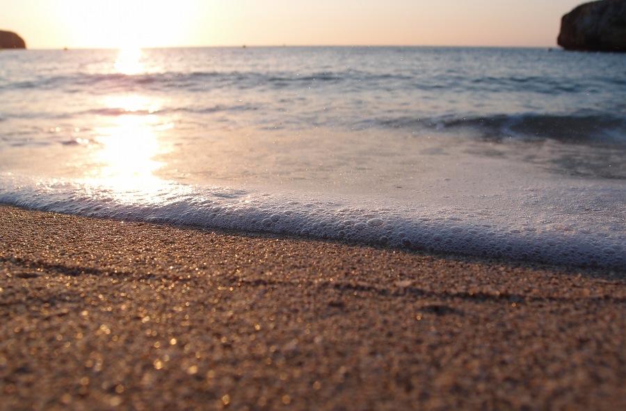 Am Tages- und am Meeresrand