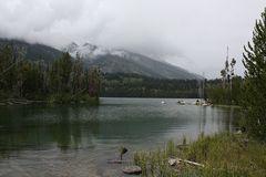 Am Taggart Lake / Grand Teton