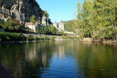 Am Ufer der Dordogne - La Roque-Gageac