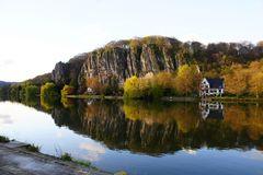Am Ufer der Maas Nähe Namur-Belgien/Wallonie
