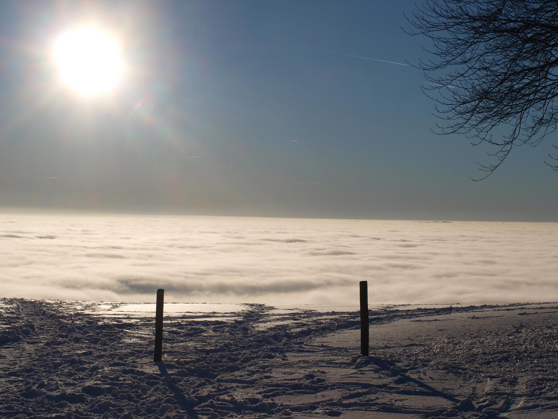 Am Ufer des Nebelmeers
