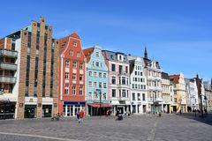 Am Universitätsplatz in Rostock