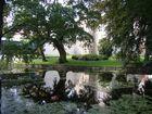 am Wasserschloss Mellenthin
