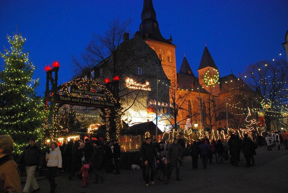 Am Weihnachtsmarkt