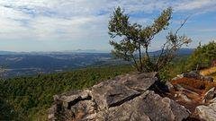 Am westlichen Rand des Hohen Schneeberges, dem höchsten  Gipfel des Elbsandsteingebirges...