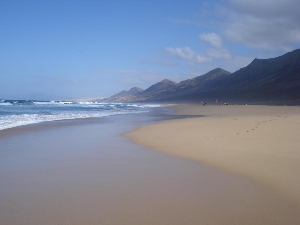 Am wilden Strand ....Fuerteventura