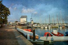 am Yachthafen...