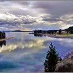 Am Yellowstone Lake
