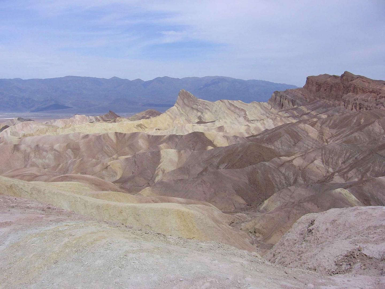 am Zabriski Point, Death Valley