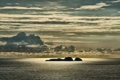 Amalfiküste im Abendlicht
