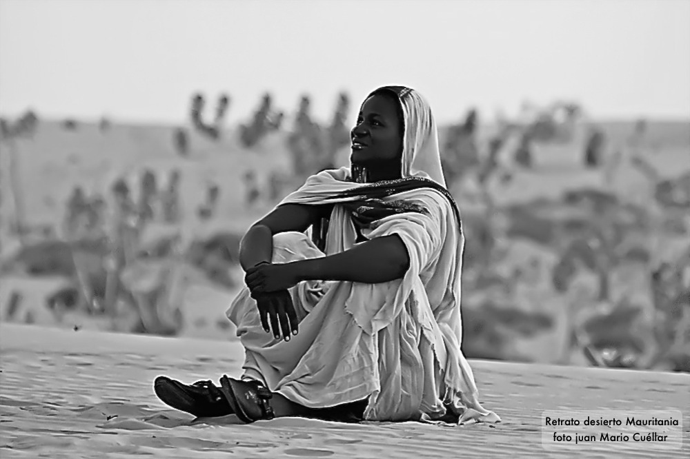 Amanecer desierto Mauritania