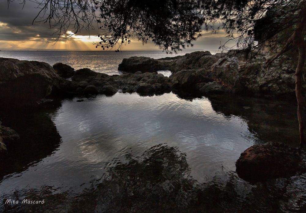Amanecer el el lago