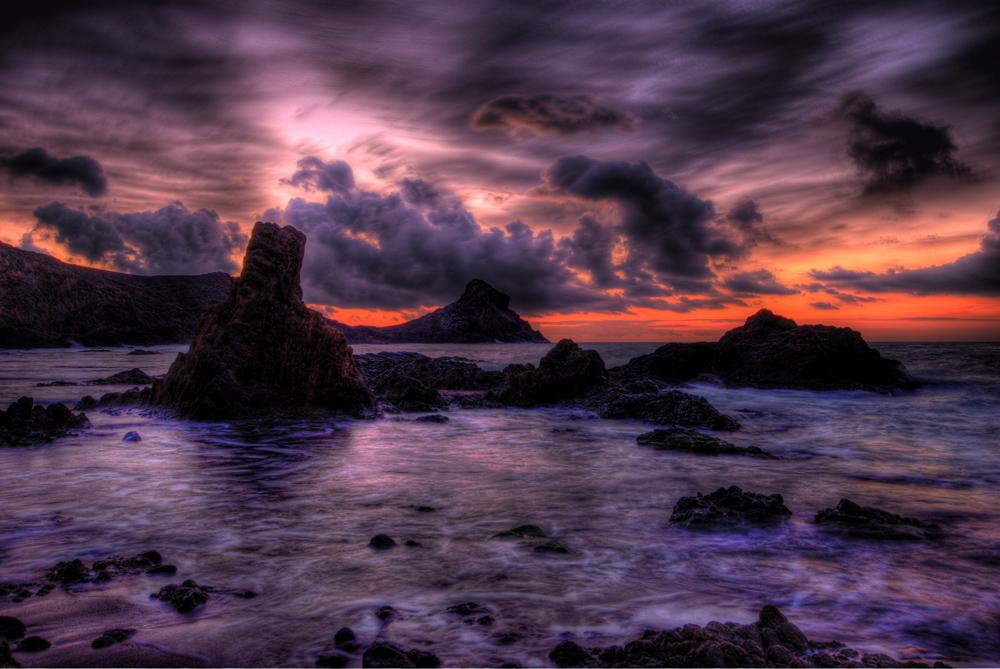 Amanecer en Cabo de Gata 1