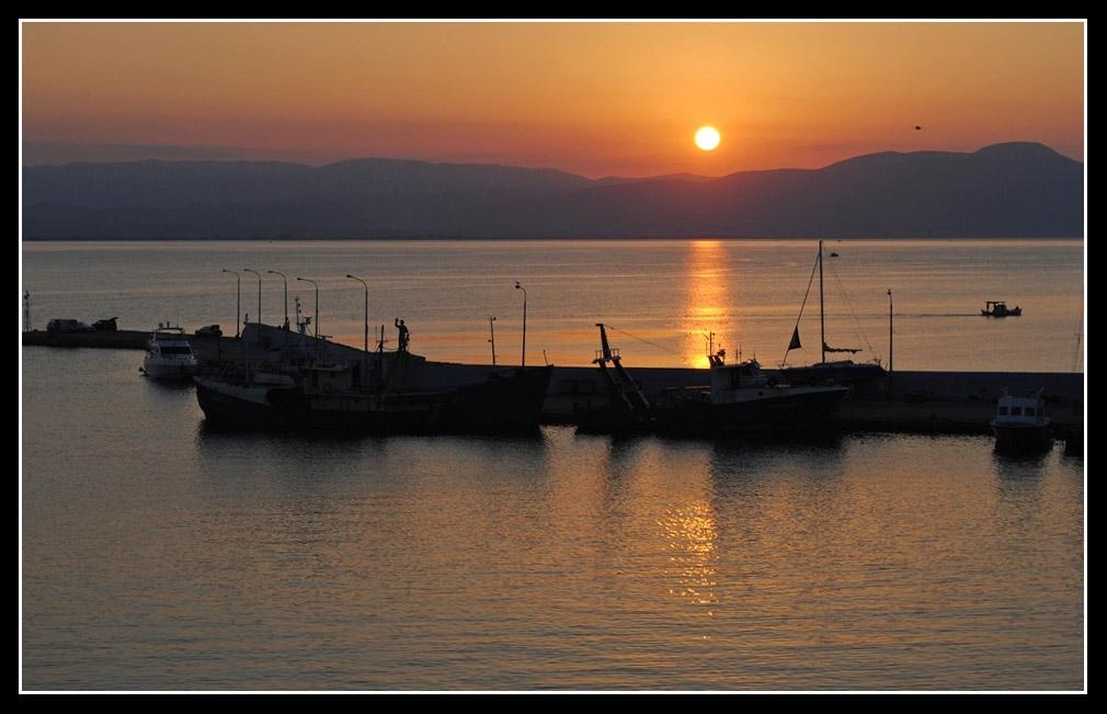 Amanecer en Grecia