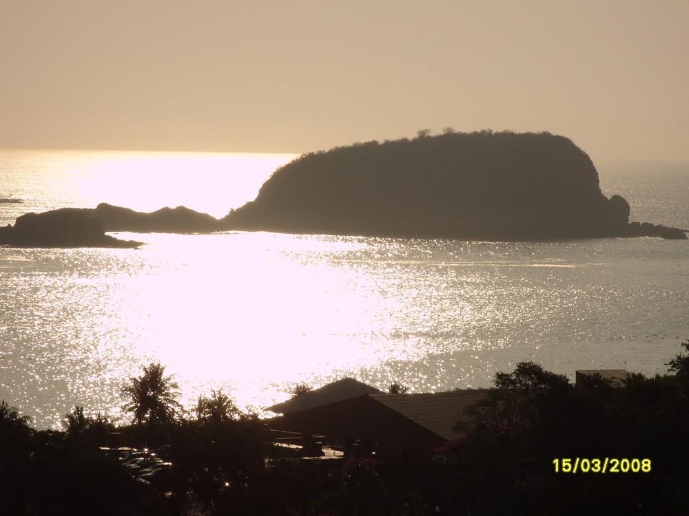 amanecer en Huatulco