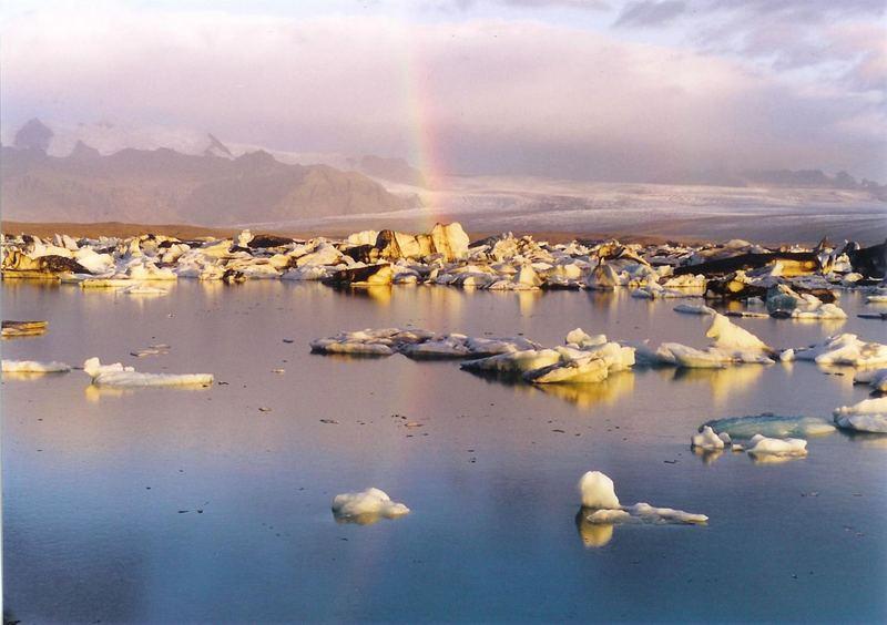Amanecer en Jökulsárlón 2 (Agosto 2005)