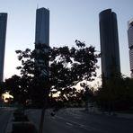 Amanecer en Madrid