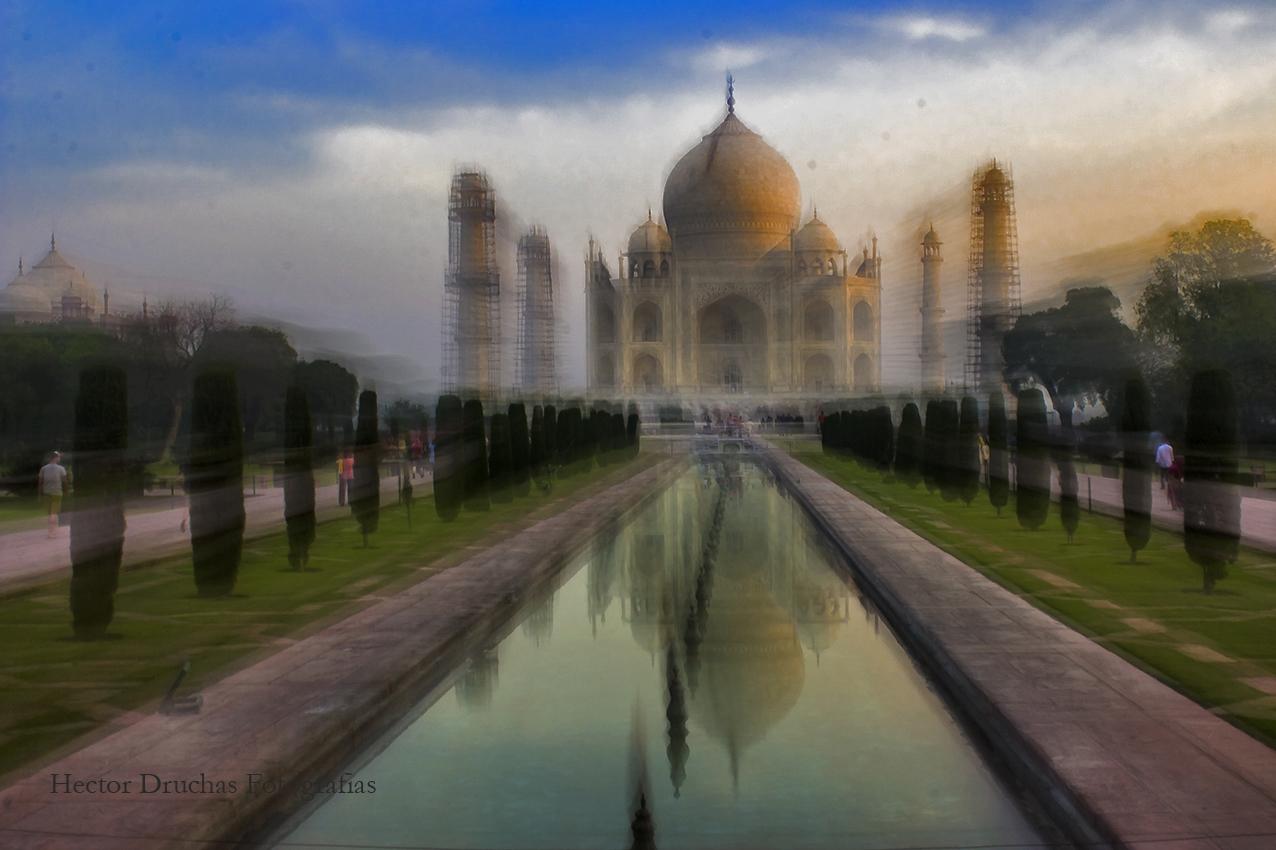 Amanecer en Taj Mahal
