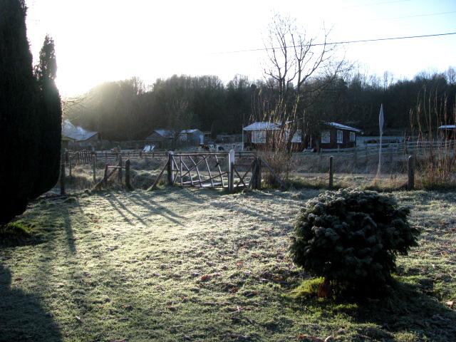 amanecer invernal