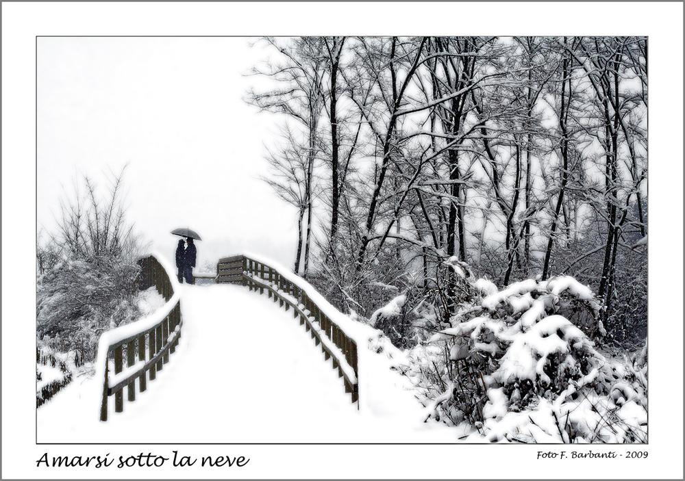 Amarsi sotto la neve