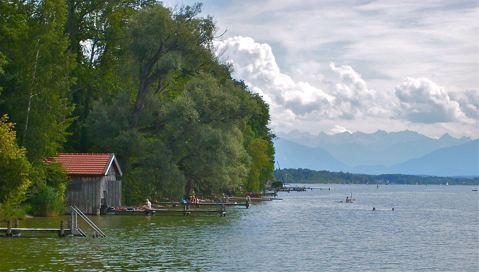 Ambach am Starnberger See Foto & Bild | landschaft, bach, fluss ...