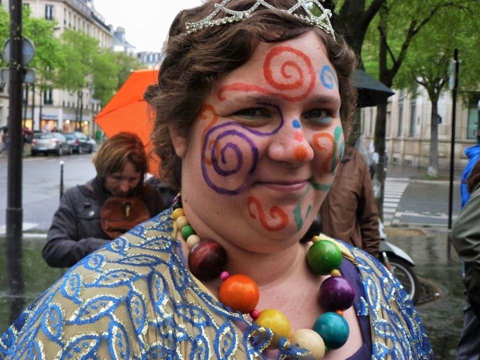 Ambiance à la fête des femmes à Paris