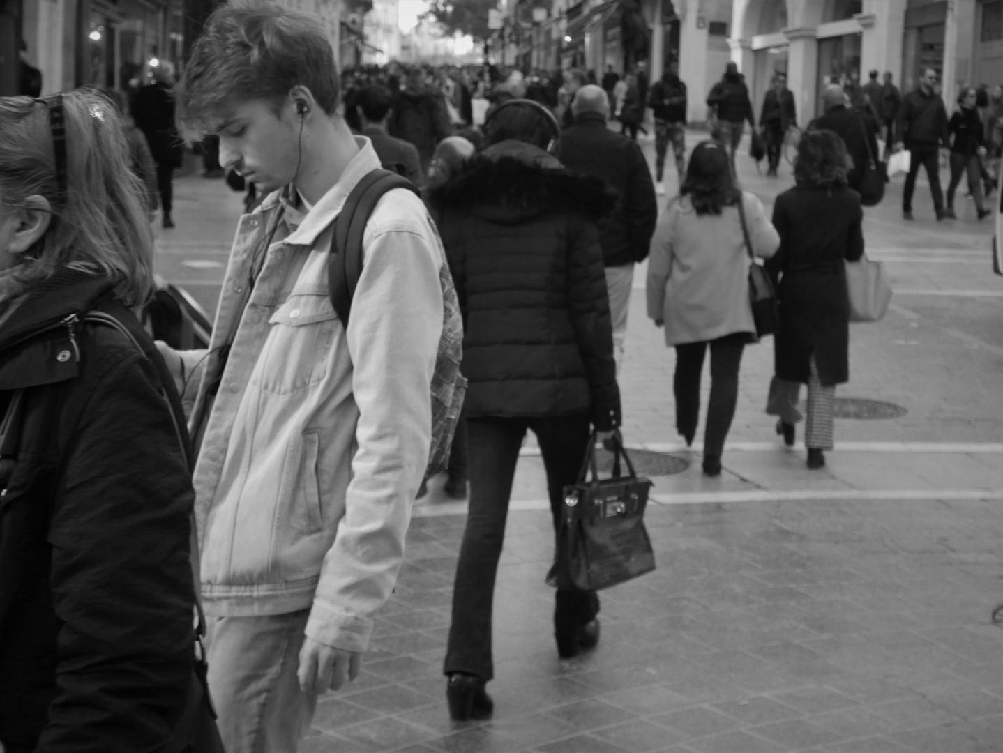 Ambiance à Montpellier