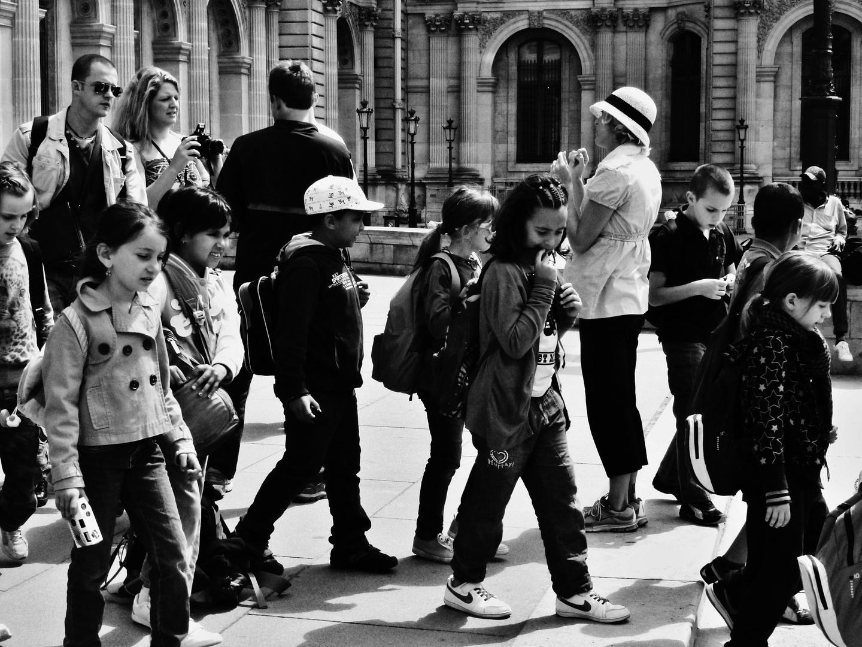 Ambiance au Louvre