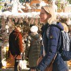 Ambiance au marché de NOEL à Montpellier