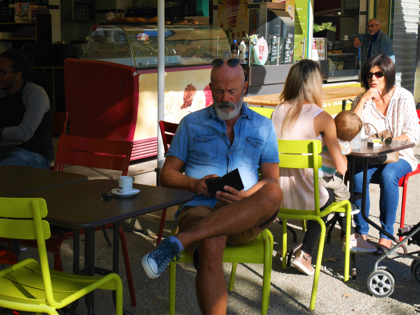 Ambiance en terrasse à Montpellier